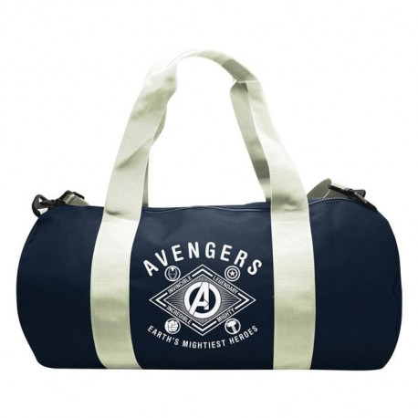Sac de sport Marvel - Earth's mightiest heroes- Navy/White - ABYstyle