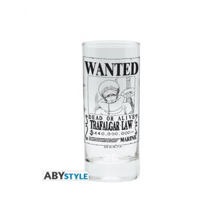 Verre One Piece - Trafalgar Wanted - ABYstyle