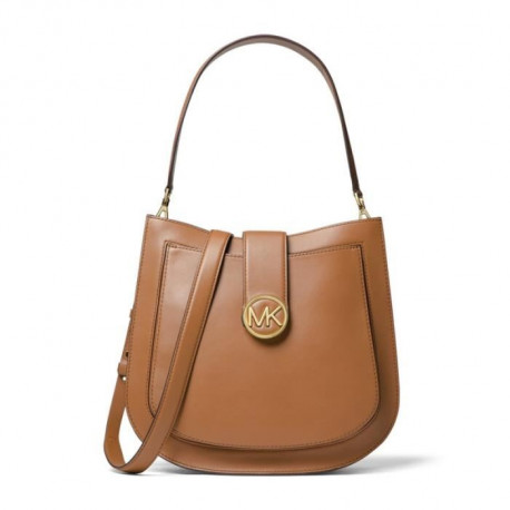 MICHAEL KORS Sac a Bandouliere LILLIE 30F8G0LM3T LG HOBO Marron Femme
