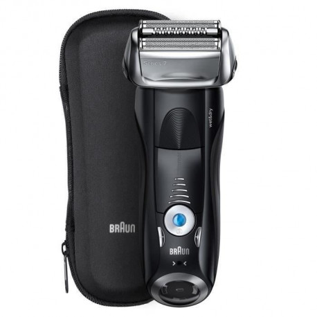 BRAUN Shaver 7842s WD Tondeuse a grille - Intensif - Noir