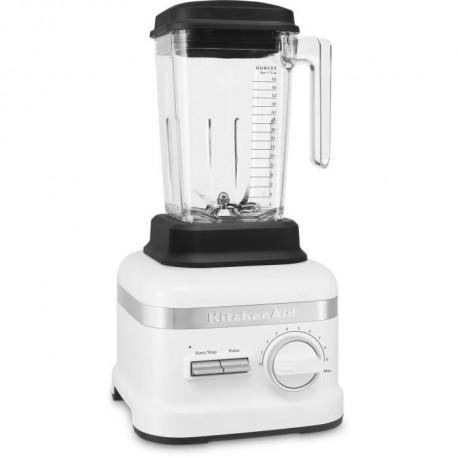 KITCHENAID 5KSB6060EFW Blender Classic X1High Performance - 2,6 L - 1800 W - Blanc givre