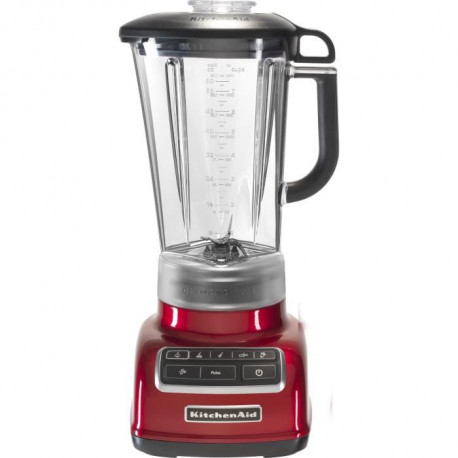KITCHENAID 5KSB1585ECA Blender 1,75 L - 7 vitesses - 550 W - Rouge pomme d'amour