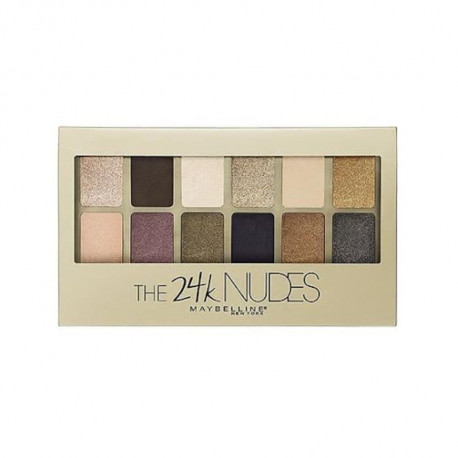 GEMEY MAYBELLINE The Rock Nudes Palette de 24 Fards a Paupieres fap03