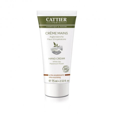 CATTIER  Creme Mains UltraBionourrissante  75 ml