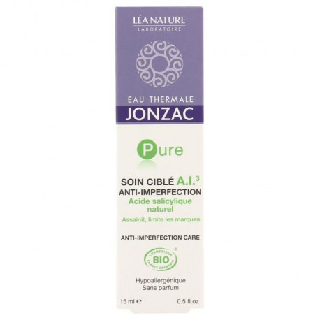 EAU THERMALE JONZAC Soin ciblé A.I.³ anti-imperfection Pure - 15 ml
