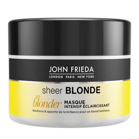 JOHN FRIEDA Masque intensif éclaircissant Sheer Blonde Go Blonder - 250 ml