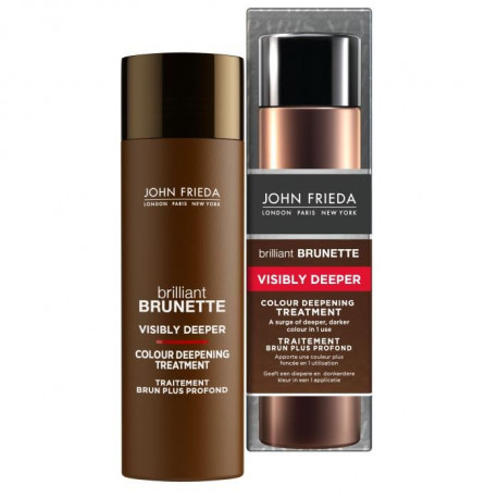 JOHN FRIEDA Traitement Brun Plus Profond Brilliant Brunette - 150 ml