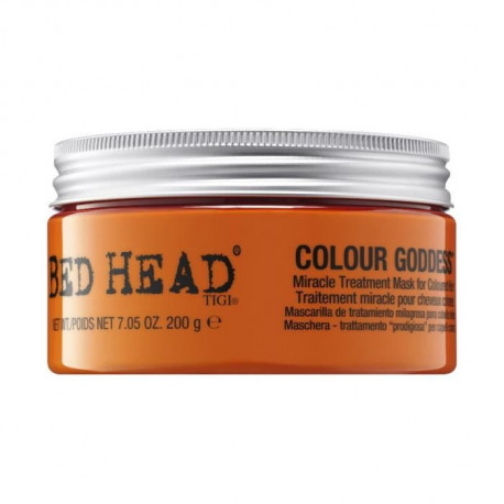 TIGI Bed Head, Colour Goddess, Masque Colour Goddess 200g, Masque cheveux colorés , Masque cheveux Post-coloration
