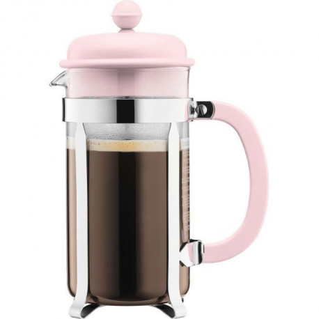 BODUM CAFFETTIERA Cafetiere a piston - 8 tasses - 1 L - Rose pastel