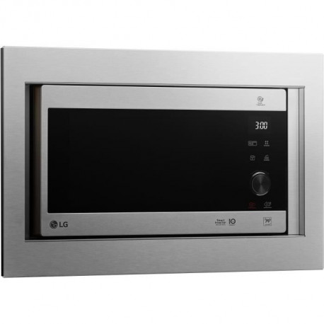 LG - MH6565CPST - Micro ondes grill - Inox - 25L - 1000W -  Grill 900W - Encastrable