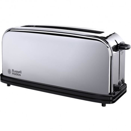 Russell Hobbs 23510-56 Toaster Grille Pain Victory 1000W, 1 Longue Fente, Design Rétro, Chauffe Viennoiserie