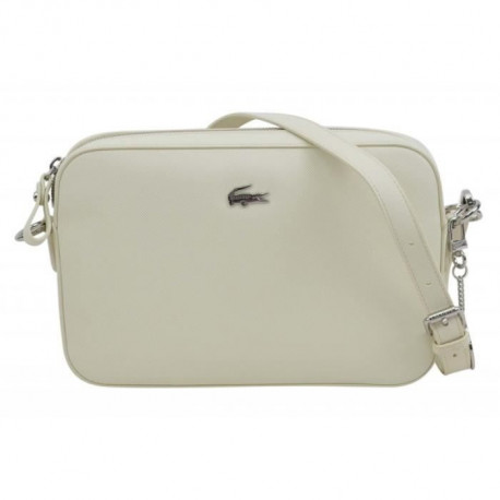LACOSTE Sac Crossover NF2771DC Blanc Femme