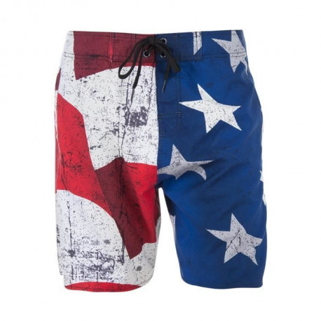 FREEGUN Boardshort Long - Homme - USA