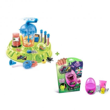 CANAL TOYS - SO SLIME DIY - Creepy Factory + 1 Slime Shaker Glow