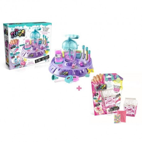 CANAL TOYS - SO SLIME FACTORY + 1 SHAKER SLIMELICIOUS MILK