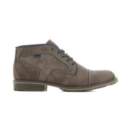 CORTINA Bottine a Lacet Taupe Homme