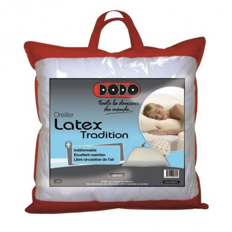 DODO Oreiller 60X60 cm Latex Tradition