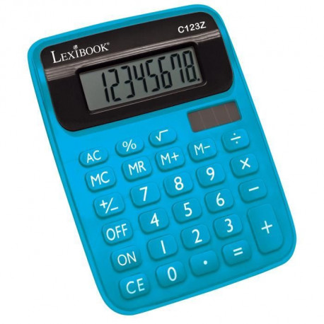 LEXIBOOK - Calculatrice Semi Desktop - Bleu