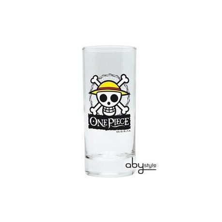 Verre One Piece - Skull - Luffy - ABYstyle