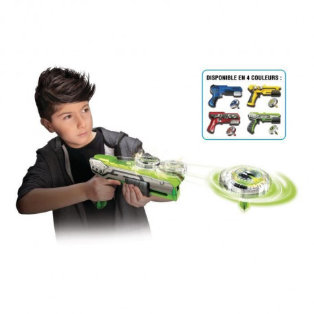 SPINNER MAD by Silverlit Un blaster + une toupie - 86300 - disponible en 4 couleurs