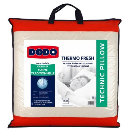 DODO Oreiller THERMOFRESH 60x60cm