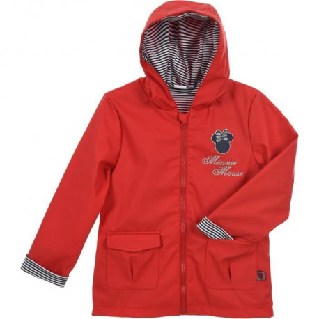 MINNIE Parka Fille 100% Polyester Rouge