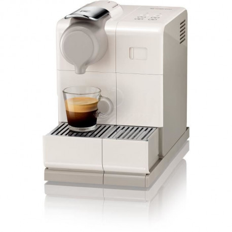 DELONGHI EN560.W NESPRESSO LATTISSIMA ONE + panneau de commande sensitif lattissima TOUCH ANIMATION - Machine expresso - Blanc