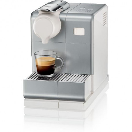 DELONGHI EN560.S NESPRESSO LATTISSIMA ONE + panneau de commande sensitif lattissima TOUCH ANIMATION - Machine expresso - Silver