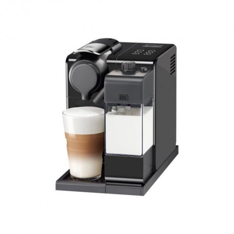 DELONGHI EN560.B NESPRESSO LATTISSIMA ONE + panneau de commande sensitif lattissima TOUCH ANIMATION - Machine expresso - Noir