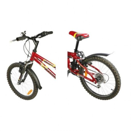 "ZEFAL Garde boue Kid 16"" & 20"" largeur 55mm  fix clips"