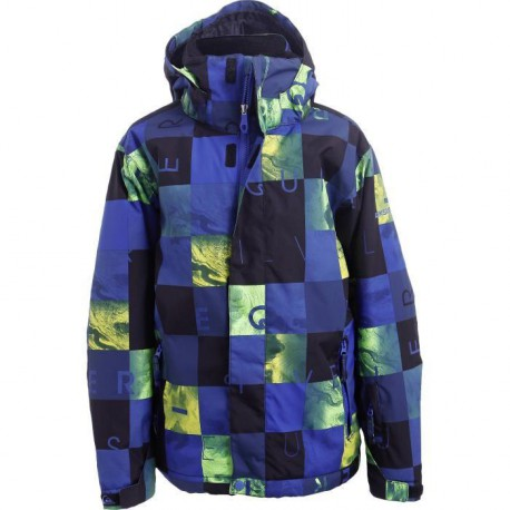 QUIKSILVER Blouson Mission Printed Ii Homme