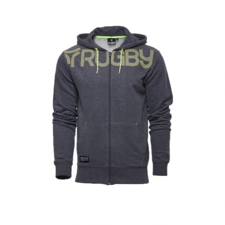 RUGBY DIVISION Veste Sweat Zippée Hoodie Mid Homme