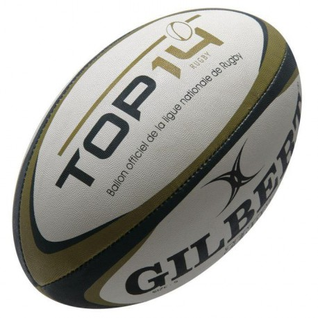 GILBERT Ballon Rugby Top 14 T5 RGB