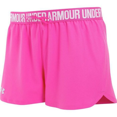 UNDER ARMOUR Short Play up Femme Rose