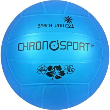 CHRONOSPORT Ballon Volley Transp Bleu 210