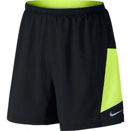 "NIKE Short de Running 7"" Pursuit 2-In-1 Homme PE17"