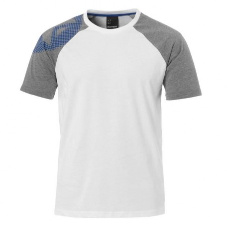 KEMPA T-Shirt Handball Fly High Homme Blanc et gris chiné