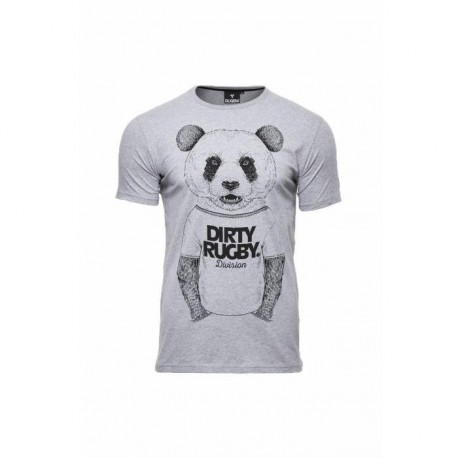 RUGBY DIVISION T-shirt Panda Homme