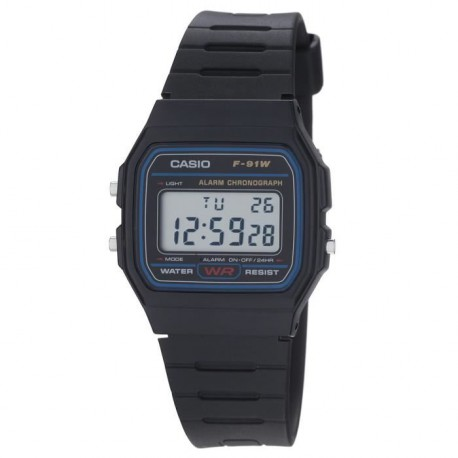 CASIO Montre Quartz F91W1YER Homme