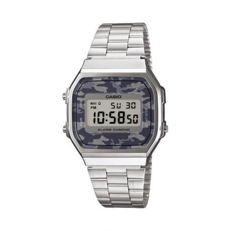CASIO Montre Quartz A168WEC-1EF Mixte