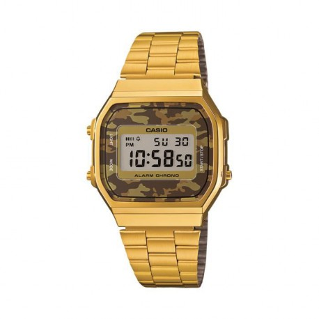 CASIO Montre Quartz A168WEGC-5EF Mixte