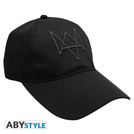 "Watch Dogs  - Casquette ""Fox Tag"" - Noir"