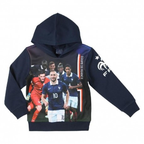 FFF Sweatshirt Football Equipe de France Enfant Garçon