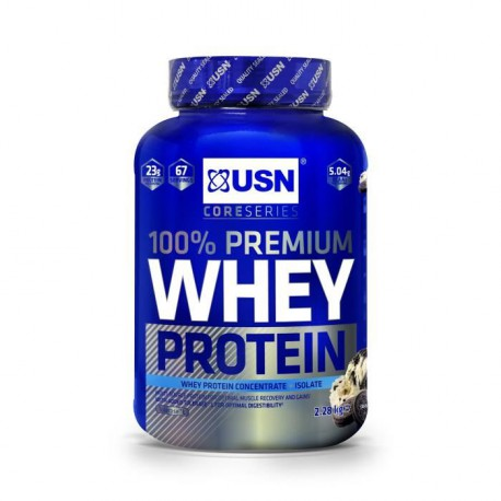 USN Cookie&Cream 100% Whey Protein 2.28 Kg Bien Etre