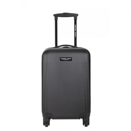 TRAVEL ONE Valise Cabine Low Cost Rigide 4 Roues Noir Again