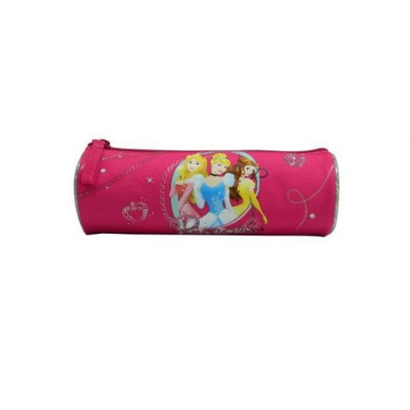 PRINCESSE Trousse 1 compartiment primaire Fille 22 cm rose