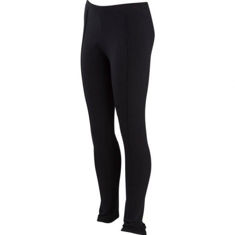 SOFTWEAR Legging chaud fille - Noir