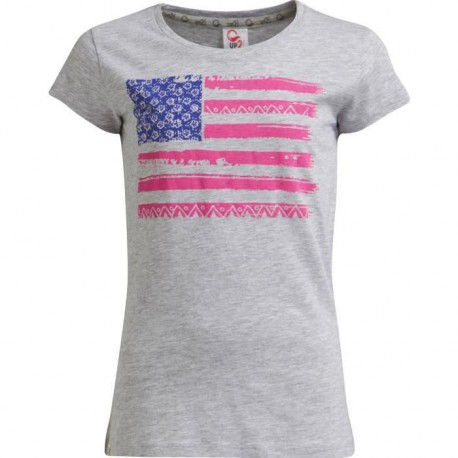 UP2GLIDE T-shirt Colombre fille - Gris
