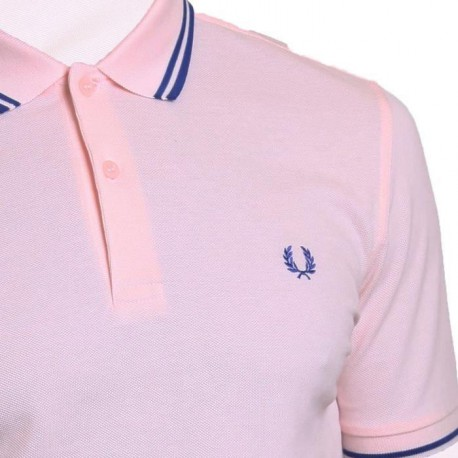 FRED PERRY Polo Homme Rose