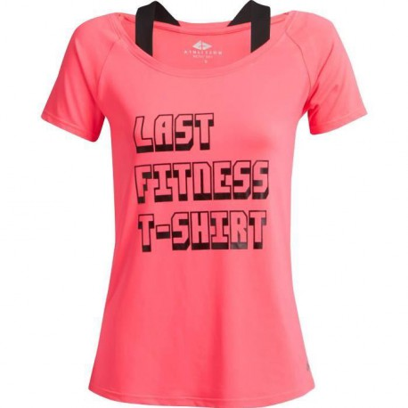 ATHLI-TECH T-shirt Celia femme - Rose